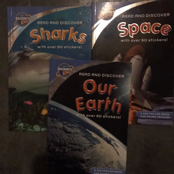 Discovery Kids book set